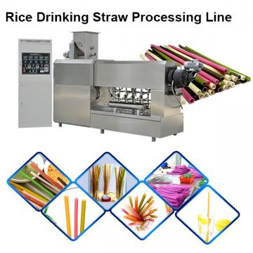 single color drinking straw making extruder machine plastic pipe lollipop stick making machine