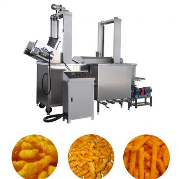 Fried Corn Curls Kurkure Food Snacks Processing Production Machine Line